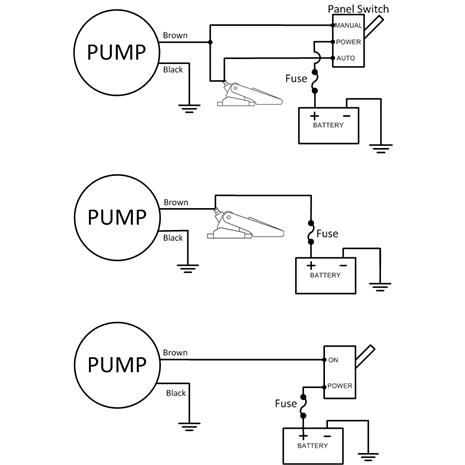 rule 360 gph/1363 lph standard 12 volt bilge pump | xylem deutschland  xylem